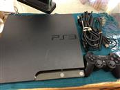 SONY PLAYSTATION 3 CONSOLE ONE CONT ALL CORDS